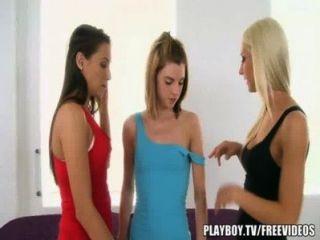 sexy Massage führt auf Mädchen Aktion Mädchen