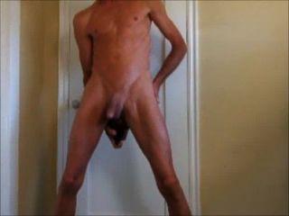 extreme Flasche fuck, meinen Arsch Fisting und pissen Schwanz spielen