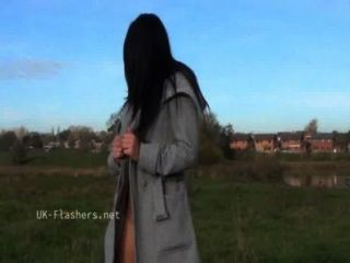 dunkel chloe lovettes öffentliche Nacktheit und Outdoor Voyeur Necken von sexy britische bab