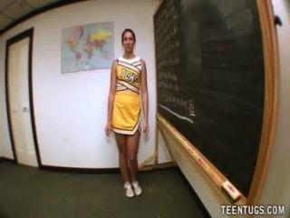 Teen Student wichst ihrem Lehrer