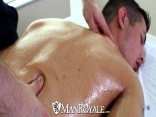 hd - manroyale sinnliche Massage verwandelt sich in heißen Sex