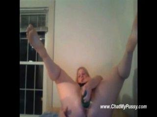 camgirl mit großen Titten mit großen Flaschen Fisting - chatmypussy.com