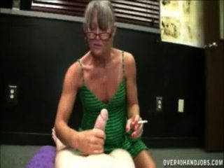 Rauchen Oma Wichsen