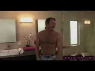 Asa Akira und Randy Spears unter der Dusche