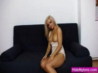 Super blonde jenna genial extreme Nylon Fetisch
