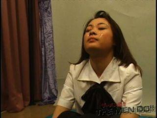 bukkake Gymnasium Lektion 4 4/4 japanischen unzensierte Blasen