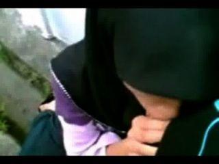 jilbab Haupt lilin