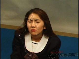 bukkake Gymnasium Lektion 14 4/4 japanischen unzensierte Blasen