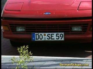 Pickup vollbusige Deutsch Rotschopf