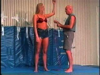 Flamingo Mixed Wrestling mw084 jessica vs paul Teil 1