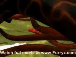 3d Tentakel Hentai von furryz com - xvideos com