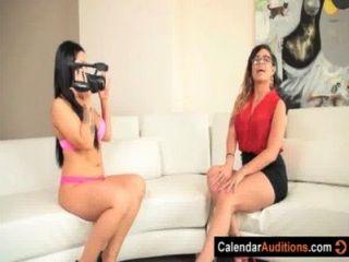 lesbischen Interviewer Angriffe