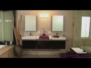 heiße Dusche mit erstaunlichen Asa Akira