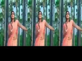 kerala Mädchen Meghana raj - hot Arsch schütteln und Nabel zeigen in nassen saree