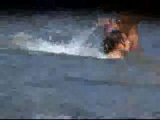 Voyeur Video von sexy gfs nackt am Strand