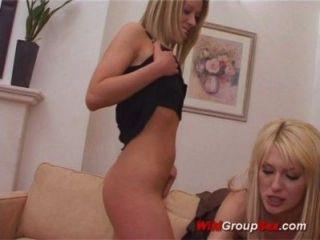 lesbischen Orgie groupsex
