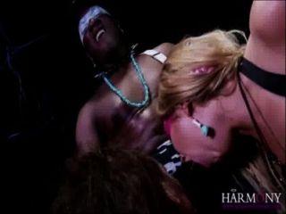 Lexi lowe & samantha bentley nehmen ein Gesicht von einem Monster schwarzen Schwanz