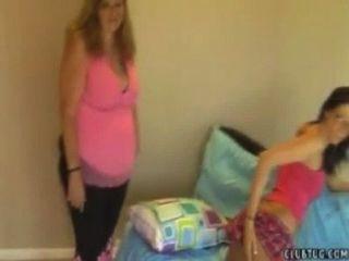 Mutter und Tochter Wichsen