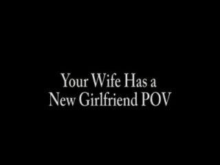 Ihre Frau hat eine neue Freundin pov - Fußfetisch fußanbetung