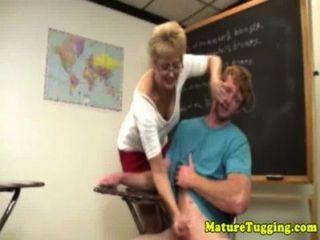 blonde reifen mit Spex Rucken Hahn