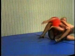 Flamingo Mixed Wrestling mw086 - jessica vs charlie Teil2