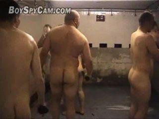 Zeit de Rugby kein vestiario (Rugby-Team auf Schließfach)