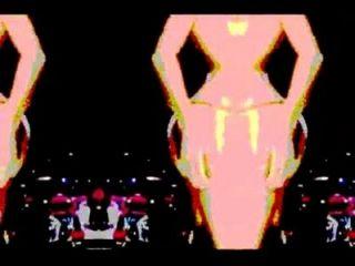 Lapdance mit Musik - psychedelisch Modus