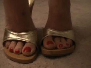 Gold Schuh cum