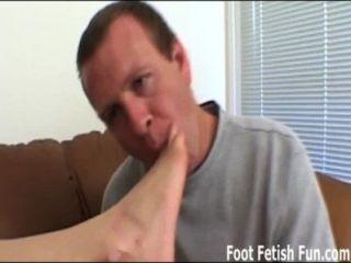 lecke meine Sohlen, so dass ich Ihnen eine schlampige foot geben kann