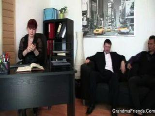 cocksucking Büro Hündin Reiten Hahn