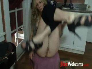 Mami ihre Möse auf ihre Webcam Jilling