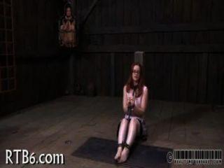 intensive Angst für Sklaven