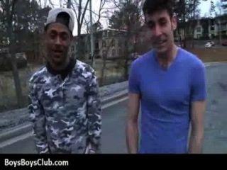 muskulösen schwarzen Homosexuell Jungen weiß Twinks hardcore 02 demütigt