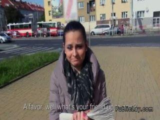 tschechisch Amateur Ficken pov in der Öffentlichkeit für Bargeld