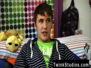 Twink Video kain Lanning ist ein geschmolzener kleiner Junge aus Iowa. er