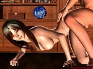 herrlich animierten mit runden Brüsten wird gelegt - xanime4u.com
