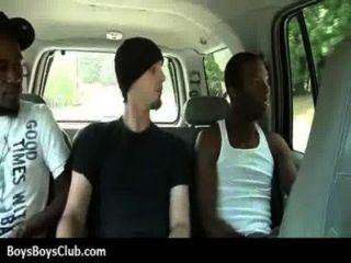 muskulösen schwarzen Homosexuell Jungen weiß Twinks hardcore 01 demütigt