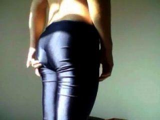 Leggings Brilho bunda masculina Quer Kleid