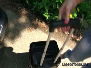 Amateur Teen Ficken pov im Freien von der Straße