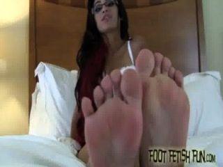 Ich liebe einen echten Fuß Freak wie Sie necken