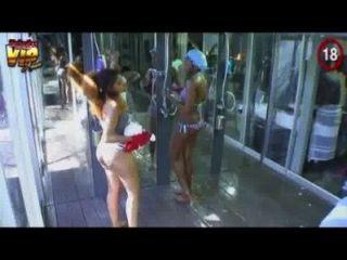bba-hotshots-showerhour-lilian, sheillah, samantha (qualitativ hochwertige Video)