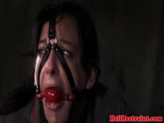 gequetscht und Mund geknebelt Prostituierte