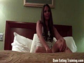 würden Sie Ihr eigenes Sperma für mich essen? CEI