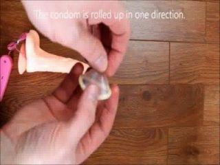 wie auf ein Kondom Video zu setzen, wie man ein Kondom an sich zu setzen, wie man Kondom