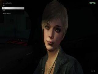 gtav - blonde Prostituierte