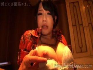 japanische kurze Haare Nymphe Nippel Vorspiels
