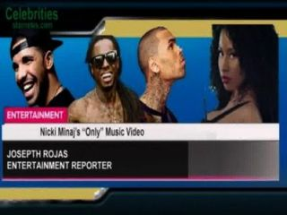 Nicki Minaj & rsquo; s & ldquo; nur & rdquo; Musikvideo