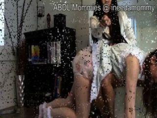 spanking frauen windeln als strafe