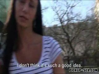 european Lieferung Mädchen Liliane von Kunden für Geld gefickt