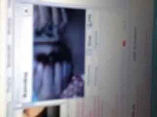 sexy Webcam-Mädchen mit einem großen Schwanz Melken